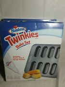 Lot Of 3 Smart Planet Hostess Twinkies Bake Set W/pastry Bag And Recipe Booklet
