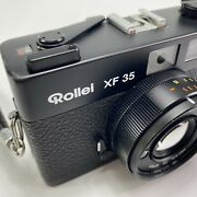 Excellent Rollei Xf35 Xf 35 Rangefinder Film Camera Sonnar Lens From Japan