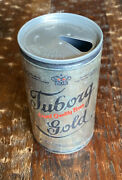 Vintage Tuborg Gold Pull Tab Beer Can 5 City Top Open Carling National Brewer