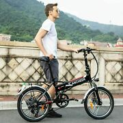 350w 20 Inch Folding Electric Bike City Ebike 36v Removable Lithium-ion Battery