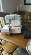 Janome 1110dx Serger Up To 4 Spools Of Thread