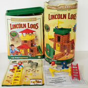 Lincoln Logs Lot Frontier Explorer And Frontier Junction Building Sets Complete