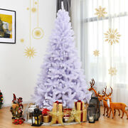 7.5ft Hinged Artificial Christmas Tree Premium Pine Tree 1346 Tips W/metal Stand