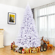 9ft Hinged Artificial Christmas Tree Premium Pine Tree 2132 Tips W/metal Stand