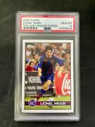 Lionel Messi 2020 Topps The Lost Rookie Cards Fc Barcelona Psa 10