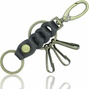 [libra] Buttero Leather Keychain Men's Nume Leather Made In Japan Keyring
