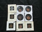 Lincoln Cents Set Of 9 Coins Proofs Clips Etc. Error Coins Day-112005078