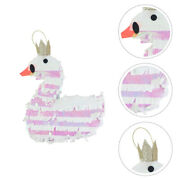 1pc Adorable Swan Creative Delicate Funny Childrenand039s Pinata Pinata Candy Toy