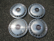 Factory Original 1985 To 1988 Cadillac 14 Inch Hubcaps Wheel Covers