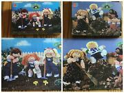 Two 2 Vintage Cabbage Patch Kids Dolls Puzzles 1984 Both Complete