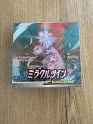 Display Pokemon Card Game Sun And Moon Miracle Twin Sm11 Box 30 Boosters Jap