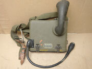 Vintage Us Wwii Signal Corps T-39-b Chest Unit