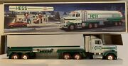 1990 Hess Truck Toy Tanker Truck Dual Sound Switch Mint Collectible Gas And Oil