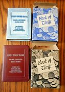 Banktwo Book Of Thrift Banks In Boxes Both Utah First State Bank Nos Cond