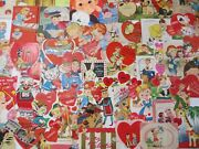 Vintage Childrenand039s Valentine Card Lot-over 200-1925-1970and039s