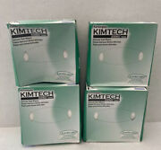 Kim Wipes Kimtech Disposable Cloth Task Wipes Lint Free 1,120 Wipes Pack Of 4