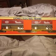 1993 Lionel Electric Trains New York Central Ttux O Gauge Freight And Trailer Set