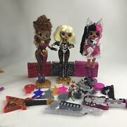 Lol Surprise Omg Dolls Metal Chick Remix Super Sonix And Fame Queen And Ferocious