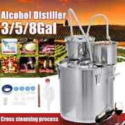 12/20/30l Distiller Alcohol Still Stainless Copper Brew Water Wine Brewing Kit