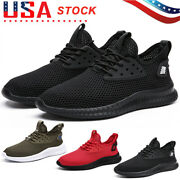 Sports Men's Outdoor Sneakers Trainers Slip On Shoes Breathable Travel Running
