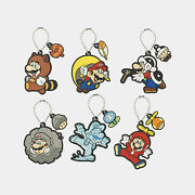 Nintendo Tokyo Rubber Keychain Collection Super Mario 2nd Product Japan 0728n