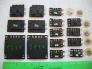 Lot Of 15 Assorted Atlas Selector 215, 56 Remote Switch Control Box, N Ho Scale