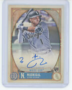 2021 Gypsy Queen Image Variation Auto 18 Nick Madrigal Rc White Sox/99