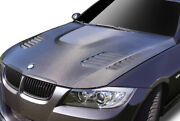 Aero Function Cfp Af-1 Hood Body Kit For 06-08 Bmw 3 Series E90