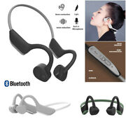 Bone Conduction Bluetooth Wireless Headset Gym Sport Earphone For Iphone Android