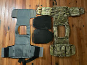 Crye Precision Lvs W/soft And Hard Armor Tactical Plate Carrier And Extras