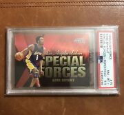 🔥kobe Bryant 1999 Fleer Force Special Forces 15 Pop 1🔥psa 8.5 Rare Forcefield