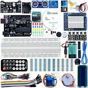 Elegoo Uno R3 Project Super Starter Kit Compatible With Arduino Ide With Tutoria