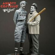 Side Show Infinity Statue Abbott And Costello Whoand039s The On First Statue