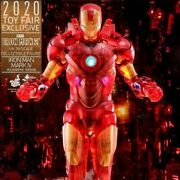 Hot Toy Mms568 16 Iron Man 2 Mark 4 Holographic 2020 Toy Fair Limited Statue