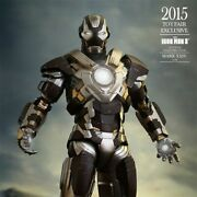 Hot Toy Mms303 16 Iron Man 3 Mark 24 Tank Toy Fair Limited Edition Statue