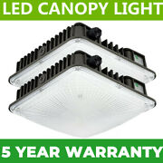 Led Canopy Light 45w 70w Hid/mh Equivalent Gas Station Warehouse Store Shop