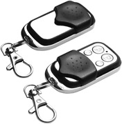 2pcs Electric Cloning Universal Gate Garage Door Opener Remote Control Fob 433mh