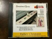 Amazing Designs Jumbo Father Christmas Collection 1 Machine Embroidery Card