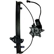 Power Window Motor And Regulator Assembly Front Right Vdo Wl44041