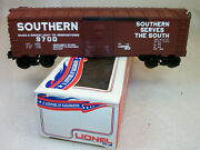 Lionel Crazy Rare 9700 Brown Usually Red Southern Box Car Mint Original Box