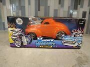Funline Original Muscle Machines And03941 Willys Coupe 1933 118 Diecast 2002 New Nib