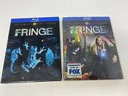 Fringe 2010 Lot Complete Season 1 Used And 2 New Blu-ray Disc 4-disc Sets