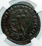 Constantine I The Great Christian Saint 312ad Old Roman Coin Jupiter Ngc I89726