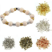 6mm Coin Spacer Copper Beads Flat Round Loose Bead Spacer Diy Womens Jewelry P3