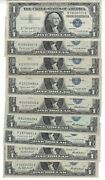 1957 A B 1 One Dollar Silver Certificate/ The Price Is For One Single Note