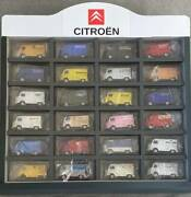 Blue Box F17 Tomica Citroen H-track Set Of 24 With Collection Case
