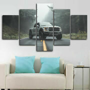 Ford Ford Raptor Pickup 5 Panel Canvas Print Poster Picture Wall Art Home Decor