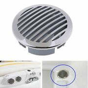 Round Louvered Vent 316 Stainless Steel Caravan Vents For 4 To 4.25 Inches Pipes