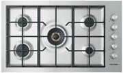 Fisher And Paykel Contemporary Series 9 Cg365dngrx2n 36 Inch Natural Gas Cooktop