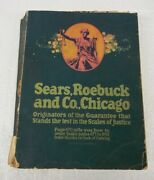 Vintage 1919 Sears Roebuck And Co. Chicago 138 1269 Page Shopping Catalog